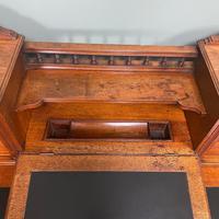 High Quality Maple & Co Antique Victorian Pedestal Desk (7 of 11)