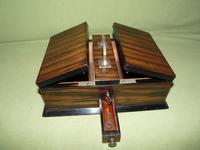 Macassar Ebony Jewellery / Trinket / Cigar Box c.1900 (10 of 11)