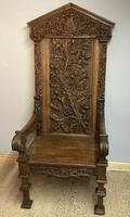 Gothic Revival Throne (3 of 20)