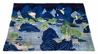 Vintage Chinese Pao-tao Landscape Rug 1.70m x 2.51m (2 of 12)