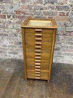 Oak Glamour Button Cabinet