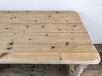 Vintage Antique Pine Farmhouse Kitchen Table (14 of 18)