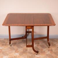 Inlaid Mahogany Edwardian Sutherland Table (14 of 19)