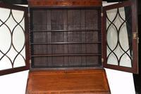 George III Bureau Bookcase Antique 1790 Desk (11 of 14)