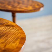 Pair of Mahogany Tripod Tables (7 of 9)