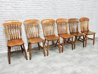 Set of 6 Windsor Kitchen Chairs (5 of 6)