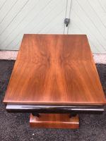Art Deco Walnut & Ebonised Table (8 of 9)