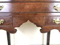 Antique English Mahogany Side Table (3 of 9)