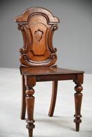 Single Mahogany Hall Chair (6 of 11)