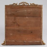 Large English Square Victorian Gilt Overmantle Mirror (7 of 7)