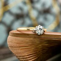 The Antique Old Brilliant Cut Diamond Solitaire Ring (2 of 4)