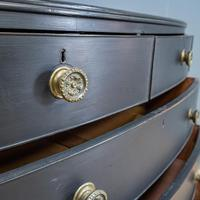 Bow Front Painted Chest of Drawers (3 of 8)