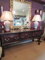 George II Period Oak Three Drawer Dresser (14 of 14)