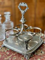 Early 19th Century Decanter Set in Stand (6 of 15)