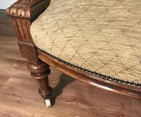 Quality Victorian Walnut Armchair (10 of 14)