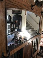 Oak Arts & Crafts / Art Nouveau Hall Stand (13 of 18)