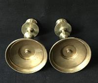 Pair of Arts & Crafts Brass Candlesticks (5 of 5)