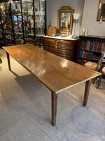Farmhouse Table Cherrywood, 42 inches wide