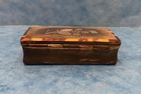 Victorian Horn & Tortoiseshell Snuff Box with Silver Inlay (5 of 16)