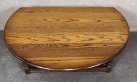 Wood Bros Old Charm Light Oak Drop Leaf Coffee Table (3 of 7)