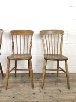 Set of Four Mix & Match Farmhouse Chairs (5 of 9)