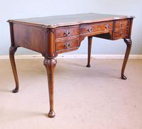 Antique Quality Burr Walnut Writing Desk (3 of 13)