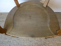 19th Century Oak Desk Chair (3 of 10)