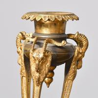 Antique George IV Bronze and Ormolu Candlesticks (3 of 4)
