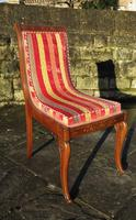 Antique French Regency Jeanselme Rosewood Dining Chairs (10 of 11)