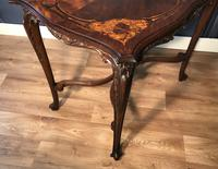 Quality Inlaid Walnut Occasional Table (2 of 18)