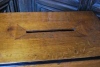 Antique Oak Mailbox (4 of 8)