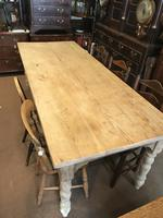 Very Good Late Victorian Antique Pine Table (12 of 14)