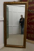 19th Century Large French Shabby Gilt Mirror (4 of 8)