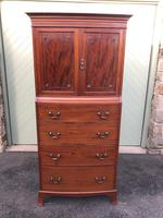 Antique Mahogany Tallboy Chest of Drawers
