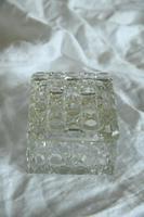 Victorian Hobnail Cut Glass Lidded Pot (6 of 12)