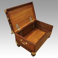 Victorian Mahogany Military Chest (11 of 14)