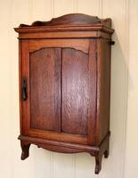 Oak Wall Cabinet (5 of 9)