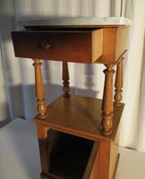 French Marble Toped Pot Cupboard Early 20th Century (12 of 14)