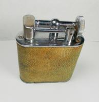Rare Stunning Unique Art Deco Shagreen Lift Arm Lighter c.1930 (13 of 13)
