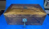 Victorian  Walnut Writing Slope with Secret Drawers (3 of 17)