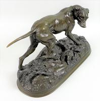After Jules Moigniez Bronze Sculpture Modelled as a Pointer (2 of 6)