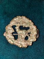 14th-16th Century Scottish Bronze Cloak Brooch