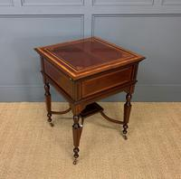 """Inlaid Mahogany """"Surprise"""" Drinks Table (4 of 15)"""
