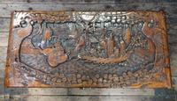 Oriental Carved Camphor Wood Chest c.1910 (3 of 12)