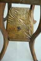 Liberty Carved Japanese Side Table (11 of 12)