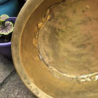 18th Century Brass Cream Pan - Log Bin (2 of 7)