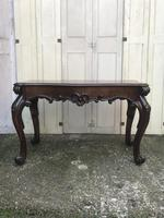 High quality early Victorian sofa / centre / console table (10 of 14)