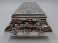 Antique Silver Casket. London 1902 (3 of 9)