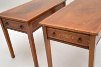 Pair of Antique Inlaid Mahogany Side Tables (9 of 12)