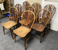 Harlequin Set of 8 18th Century Windsor Dining Chairs (12 of 15)